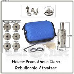 Hcigar Prometheus Genesis Style RBA (Обслуживаемый атомайзер, генезис, клон Прометея)