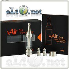 [VapeOnly] 2ml  vAir D16 - двуспиральный, с регулировкой воздушного потока