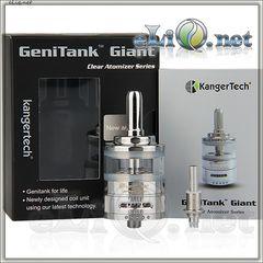[KangerTech] 4,5ml Genitank Giant - двуспиральный, с улучшенной системой регулировки подачи воздуха. Оригинал.