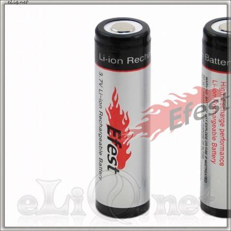 Efest 18650 3400mah Unprotected Li-ion battery with flat top. Литий-ионный аккумулятор без защиты