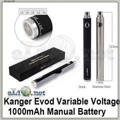 [KangerTech] EVOD VV / EVOD Twist 1000mAh - варивольт