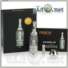 [Aspire] 5ml Nautilus BVC Adjustable Airflow Pyrex Glass - Наутилус