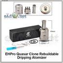 Ehpro Quasar RDA - ОА для дрипа из нержавеющей стали. Квазар, клон.