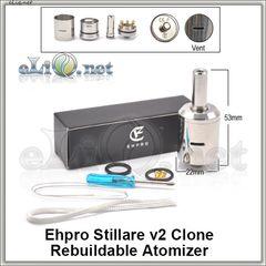 Ehpro Stillare V2 RDA - ОА для дрипа из нержавеющей стали, клон.