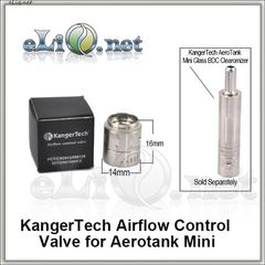 [KangerTech] Airflow Control Valve for Aerotank Mini. База для Аэротанка Мини.