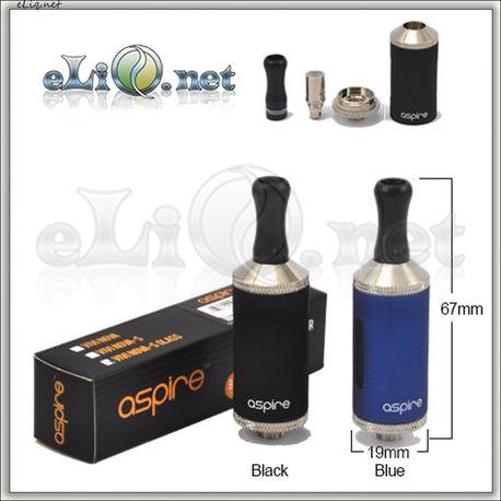 [Aspire] 3.5ml  VIVI NOVA-S Glass BDCC стеклянный двуспиральный клиромайзер с нижним расположением спиралей.
