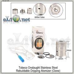 Tobeco Onslaught RDA - ОА для дрипа из нержавеющей стали. клон.