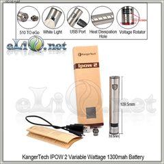 [KangerTech] IPOW 2 VW 1300mAh - вариватт с дисплеем