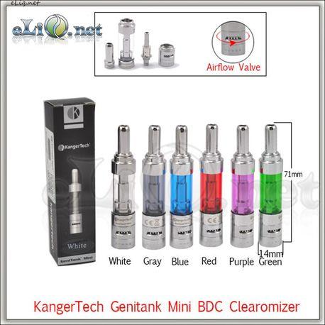 [KangerTech] Genitank Mini - клиромайзер с регулировкой подачи воздуха.