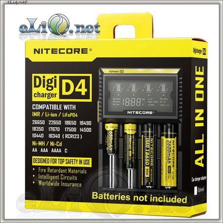 D4 Sysmax / Nitecore Intelligent Digicharger / Интеллектуальное цифровое зарядное устройство