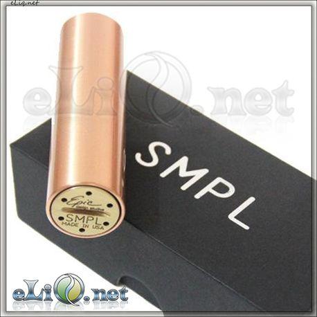 SMPL Copper Mechanical Mod 18650 /  медный механический мод, клон.