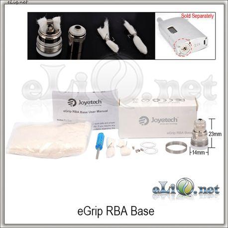 Joyetech eGrip RBA Base - обслуживаемый атомайзер для eGrip