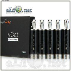 VapeOnly vCat BDCC Двуспиральный клиромайзер с нижней спиралью.