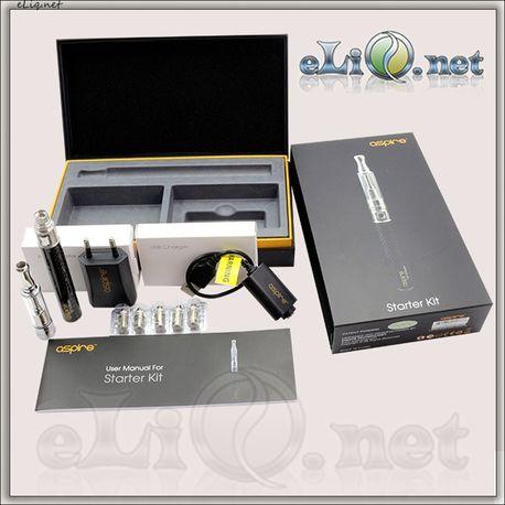 Aspire Starter Kit. Электронная сигарета. Стартовый набор.