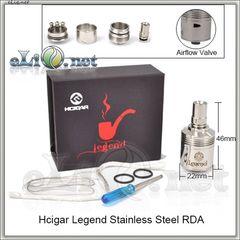 Hcigar Legend RDA - ОА для дрипа из нержавеющей стали. Легенда клон.