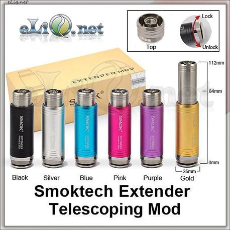 [Smoktech]  Extender Telescoping Mod 18350/18500/18650. Механический мод - телескоп.