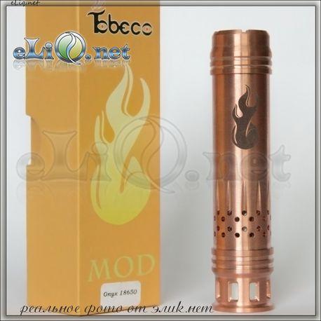 Tobeco Onyx 18650 Mechanical Mod. Механический мод, клон.