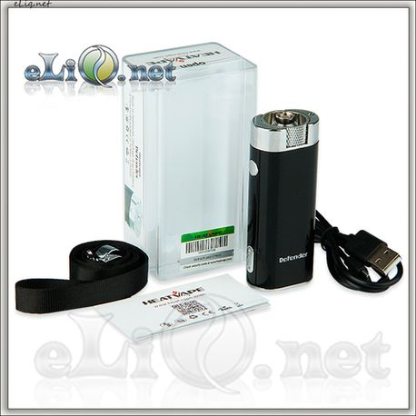25W 8V Heatvape Defender VV/VW Mini Box Mod - 2600mAh, 20A - Мини боксмод-вариватт.