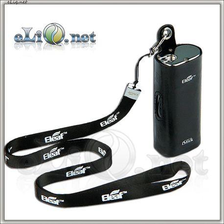 Кожаный чехол с ремешком для Eleaf iStick (Leather Case w/ Lanyard)