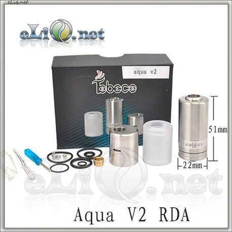 Tobeco Aqua V2 RBA, RDA & Hybrid универсальный обслуживаемый атомайзер.