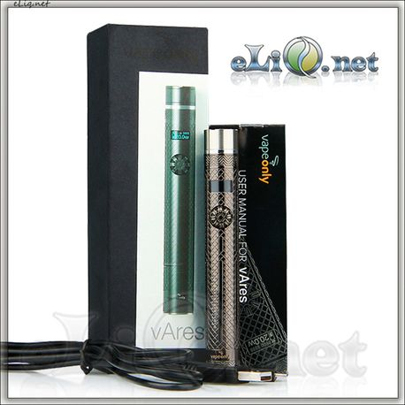 20W VapeOnly vAres VV/VW Mod Battery - 1600mAh пастру-варивольт.