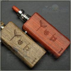 Акция! Yepecig Wood mod + RDA - деревянный мехмод + обслуживаемый атомайзер для дрипа.