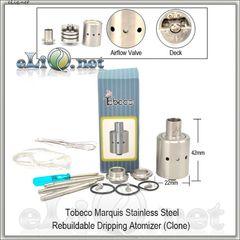 Tobeco Marquis RDA - ОА для дрипа из нержавеющей стали и меди. клон. Маркиз