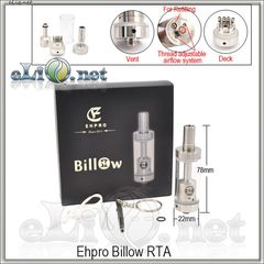 EHPRO Billow RTA - обслуживаемый атомайзер-танк.
