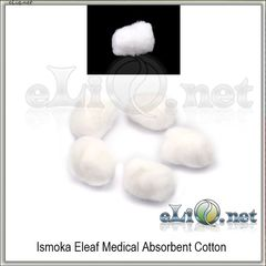 5pc iSmoka Eleaf Medical Absorbent Cotton - медицинская вата.