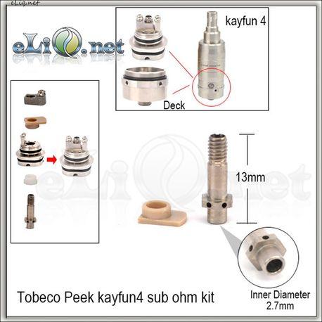 Tobeco Kayfun V4 Large-Airflow Pin.