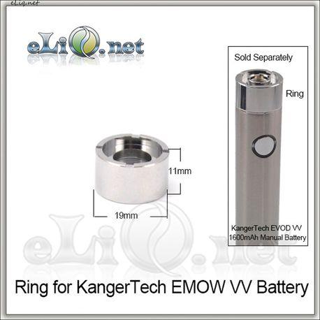 19 mm Ring for KangerTech EMOW VV / Декоративное кольцо, юбка