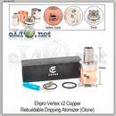 Ehpro Vertex V2 RDA - ОА для дрипа из нержавеющей стали и меди. клон