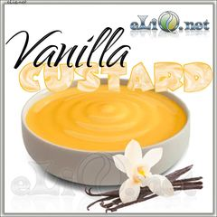 Vanilla custard (eliq.net) - жидкость для заправки электронных сигарет. Ванильный кастард.