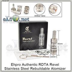 EHPRO Revel RDTA - обслуживаемый атомайзер-танк для дрипа. Оригинал.