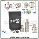 Hcigar Zero Gravity RDA & RBA (Clone) - обслуживаемый атомайзер- дрипо-танк. клон.