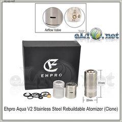 Ehpro Aqua V2 RBA, RDA & Hybrid универсальный обслуживаемый атомайзер.