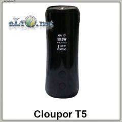 50W Cloupor T5 - батарейный мод вариватт для электронной сигареты.