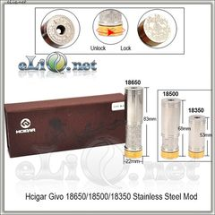 Hcigar Givo 18350/18500/18650 Mechanical Mod -  Мехмод