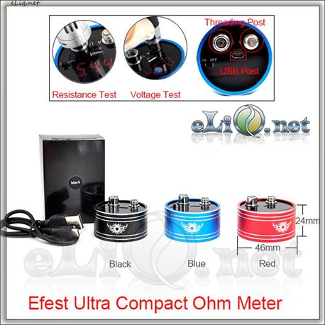 Efest Ultra Compact Ohm & Voltage Meter омметр + вольтметр