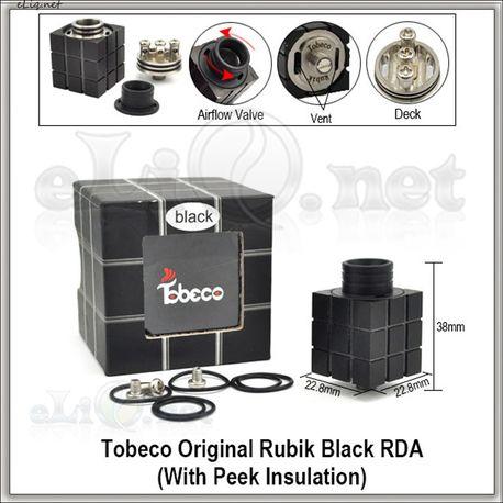 Tobeco Original Rubik RDA - оригинальный ОА для дрипа. Кубик Рубика.
