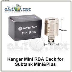 Mini RBA Coil. Обслуживаемый испаритель для KangerTech Subtank Mini / Plus