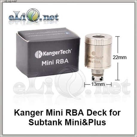 Mini RBA Coil. Обслуживаемый испаритель для KangerTech Subtank / Mini / Nano / Plus