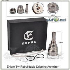 Ehpro Tyr SS 26650 RDA - ОА для дрипа из нержавеющей стали, оригинал.