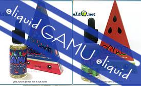 Gamu премиальная жидкость для электронной сигареты в Элик