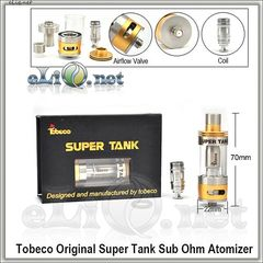 Tobeco Original Super Tank - 4.5ml - сабомный атомайзер.