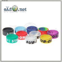 16 мм Silkprint Decorative Silicone Ring - силиконовое колечко, препятствующее скольжению эл. сигареты.