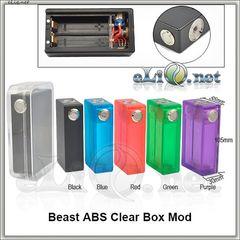 Tobeco Colorful Beast ABS Mod (Clone) - акриловый механический мод под 2 аккумулятора