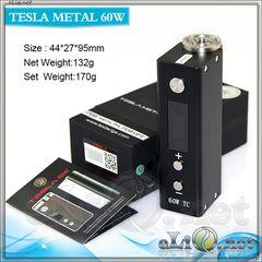 60W TC Tesla Mini Box Mod - мини-боксмод вариватт с температурным контролем.