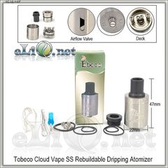 [Tobeco] Cloud Vape RDA - ОА для дрипа. клон.