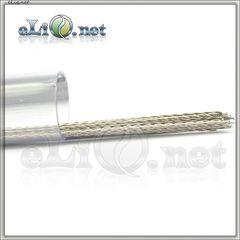 Twisted Nichrome Rod Wire (0.4mm, 26ga) - Скрученная нихромовая проволока.